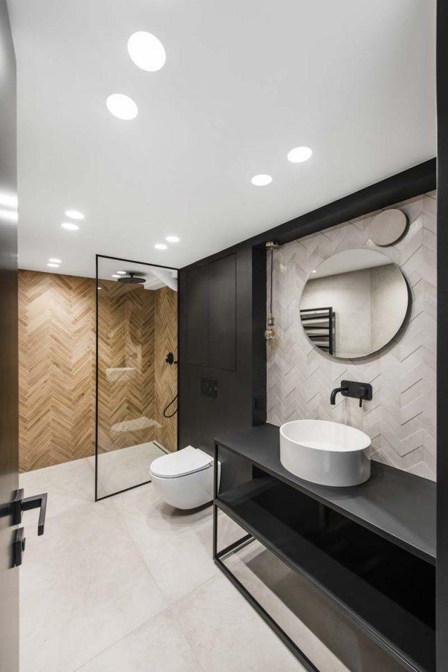spanplafond inbouwspots badkamer