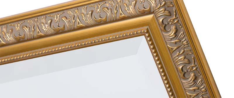 spiegel op maat facerand