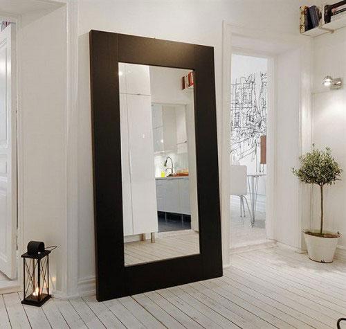 Spiegel voor de hal interieur inrichting - Entree decoratie ...