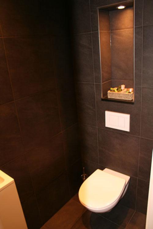 Toilet verlichting idee n interieur inrichting - Inrichting van toiletten wc ...