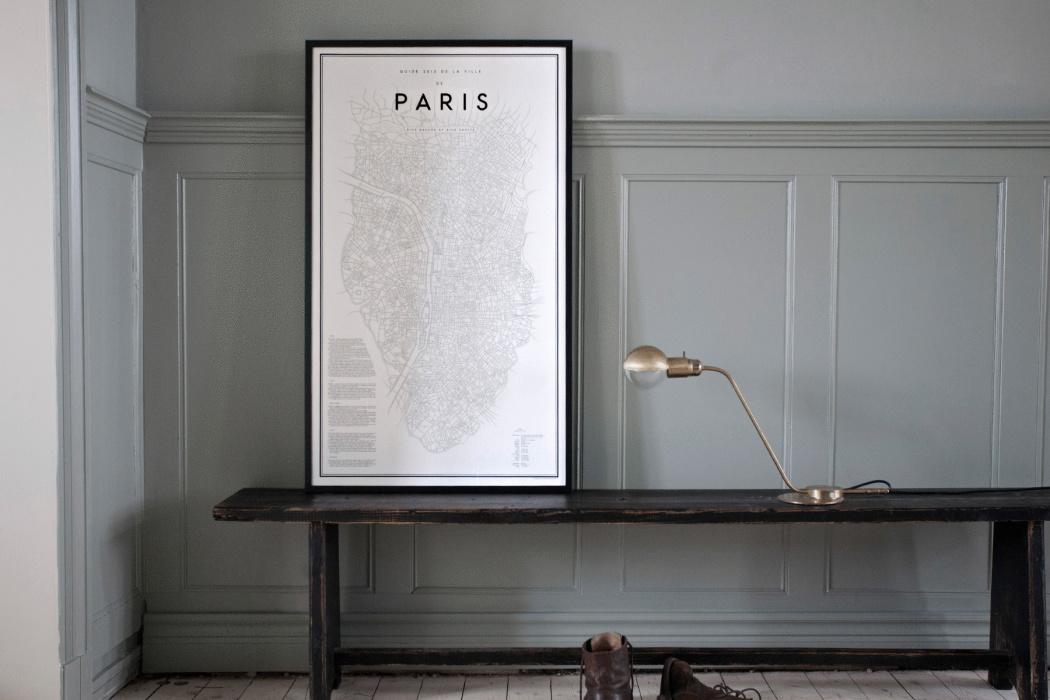Plattegrond Keuken Ontwerpen : Steden plattegrond posters Interieur inrichting