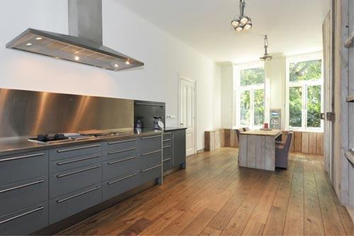 Wonderlijk Steigerhout in keuken | Interieur inrichting XW-54