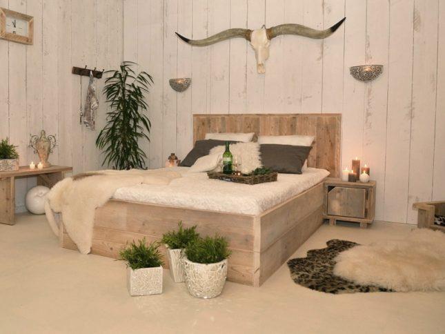Steigerhouten meubelen blijven trendy interieur inrichting - Trendy slaapkamer ...