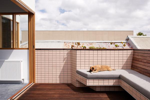Stijlvol balkon terras ontwerp interieur inrichting