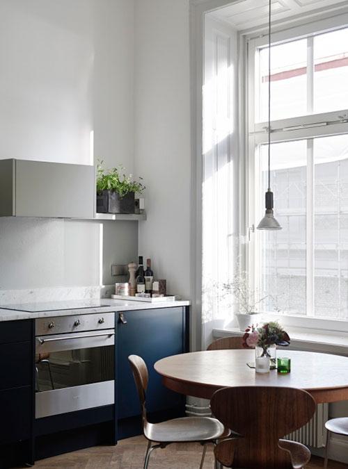 Stijlvol verbouwd klein appartement