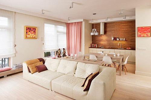 Stijlvol vrouwelijk appartement