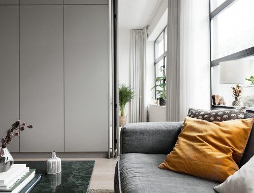 Stijlvol Zweeds turnkey appartement