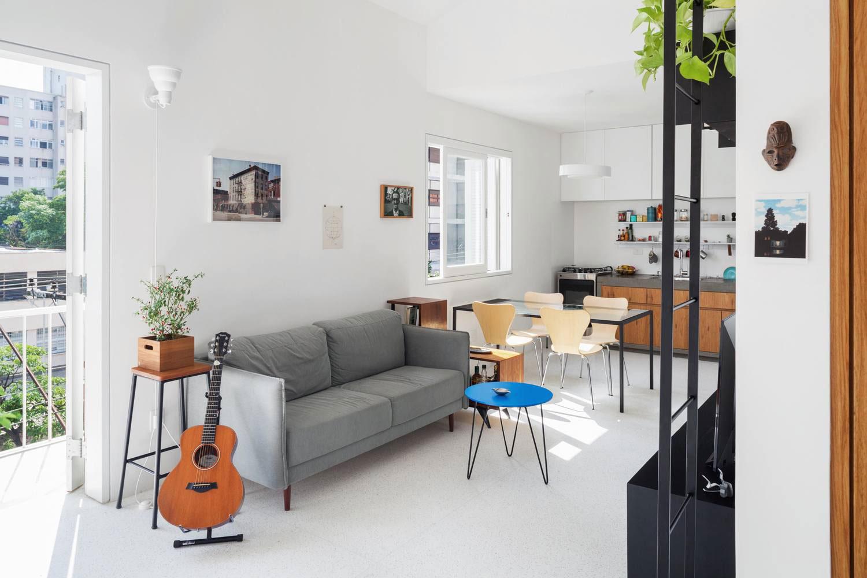 Stoer klein appartement van 50m2 in São Paulo