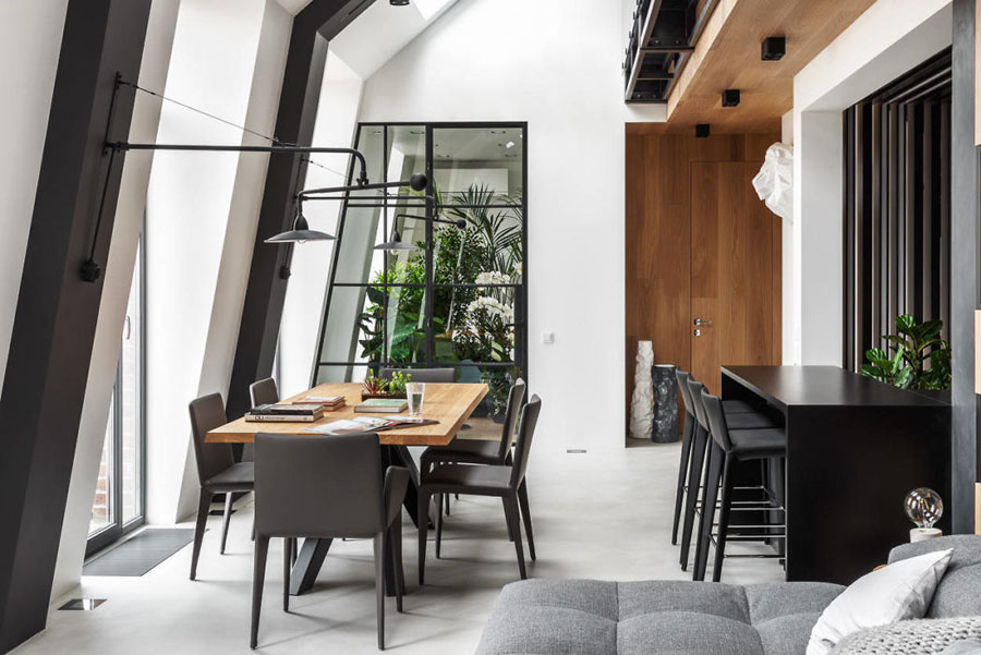 Stoere Industriele Loft : Stoer loft appartement met een industriële warme sfeer interieur