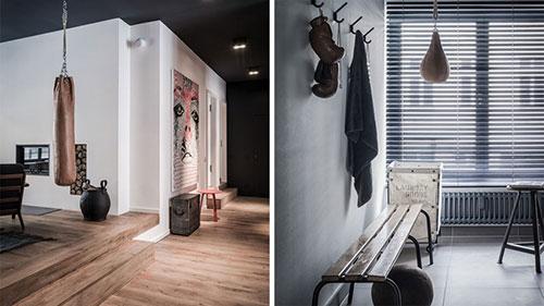 Brandblokken In Interieur : Stoer rustiek appartement te huur in berlijn interieur inrichting