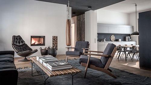 Stoer rustiek appartement te huur in Berlijn | Interieur inrichting