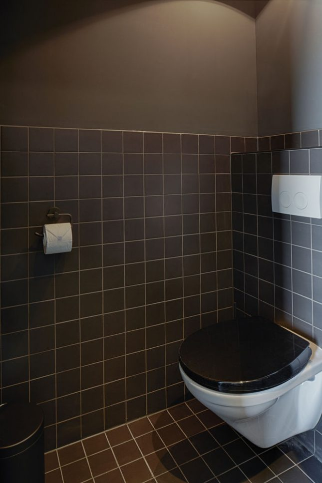 Stoer toilet ontwerp van The Duke Boutique Hotel