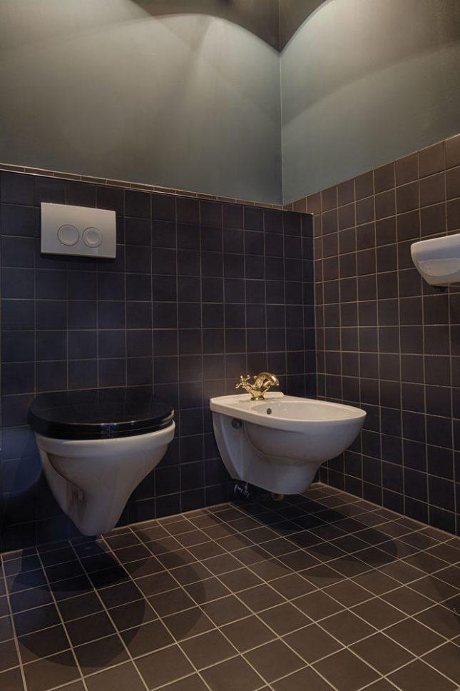 Stoer toilet ontwerp van The Duke Boutique Hotel