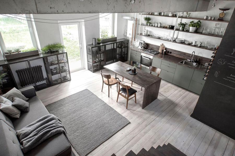 Industriele Keuken Rotterdam : Stoere industriële keuken door int2 architecture interieur inrichting