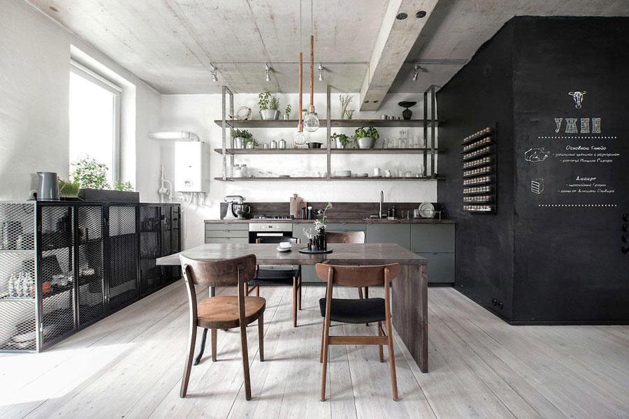 Stoere industriële keuken door int2 architecture interieur inrichting