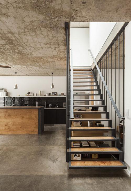 Stoere Keuken Hout : Stoere keuken met beton, staal en hout Interieur inrichting