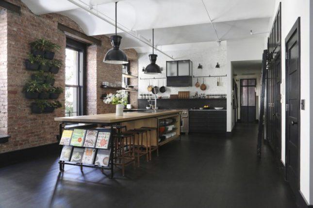 Keuken Zwart Stoere : Stoere open loft keuken uit new york interieur inrichting