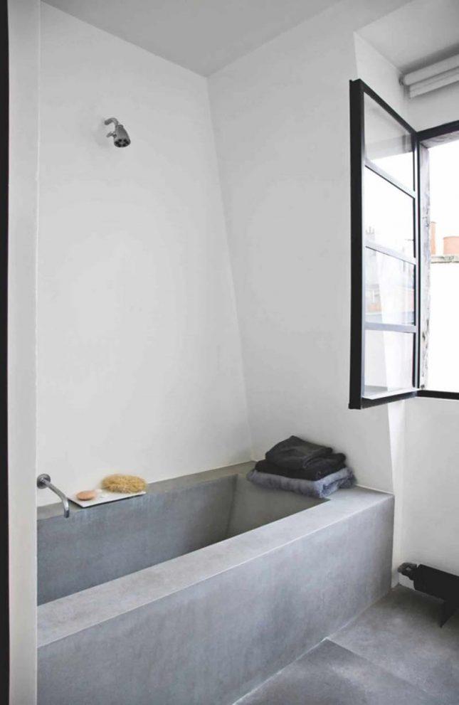 tadelakt bad badkamer