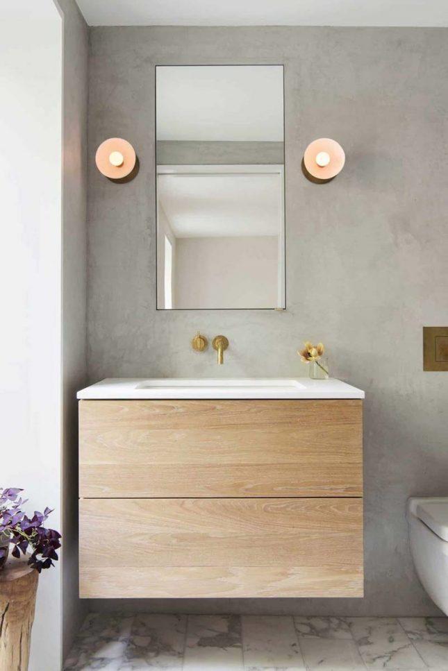 tadelakt muren marmeren vloer badkamer