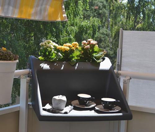 Tafel voor klein balkon