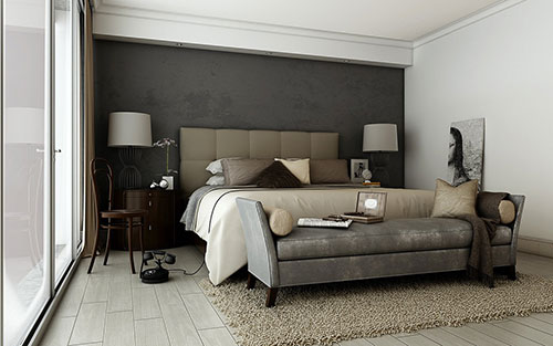 taupe interieur interieur inrichting. Black Bedroom Furniture Sets. Home Design Ideas