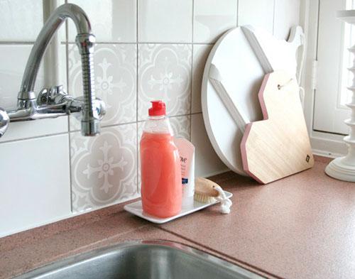Tegelstickers handig goedkoop en mooi interieur inrichting
