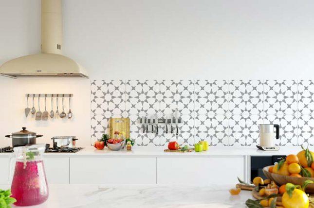 Tegelstickers keuken