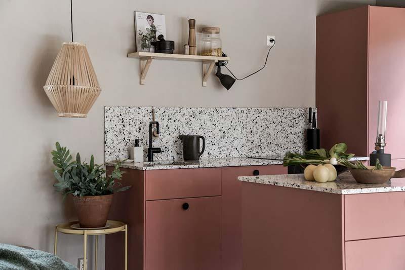 Terracotta keuken