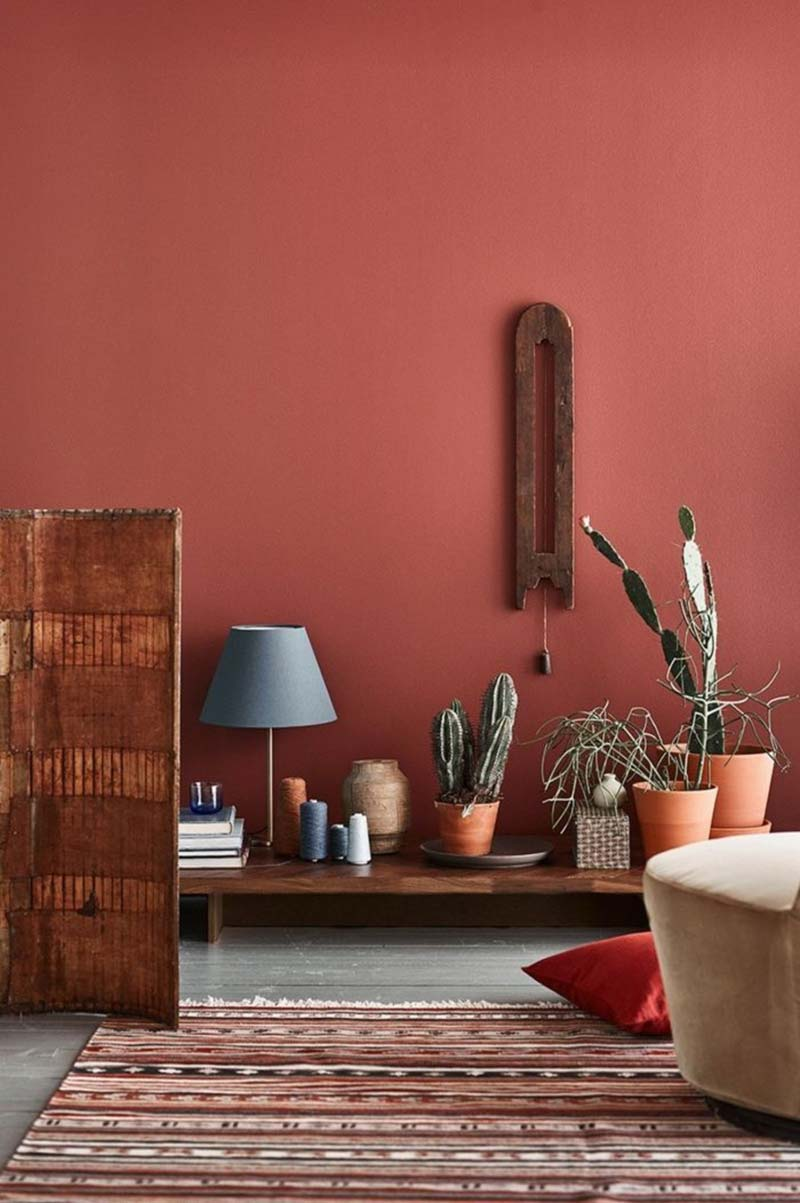 terracotta styling