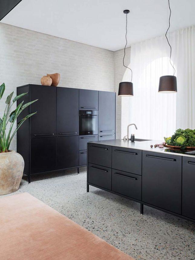terrazzovloer keuken
