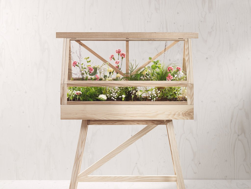 Badkamer Kas Idees : The Greenhouse - mini kas voor in huis Interieur ...