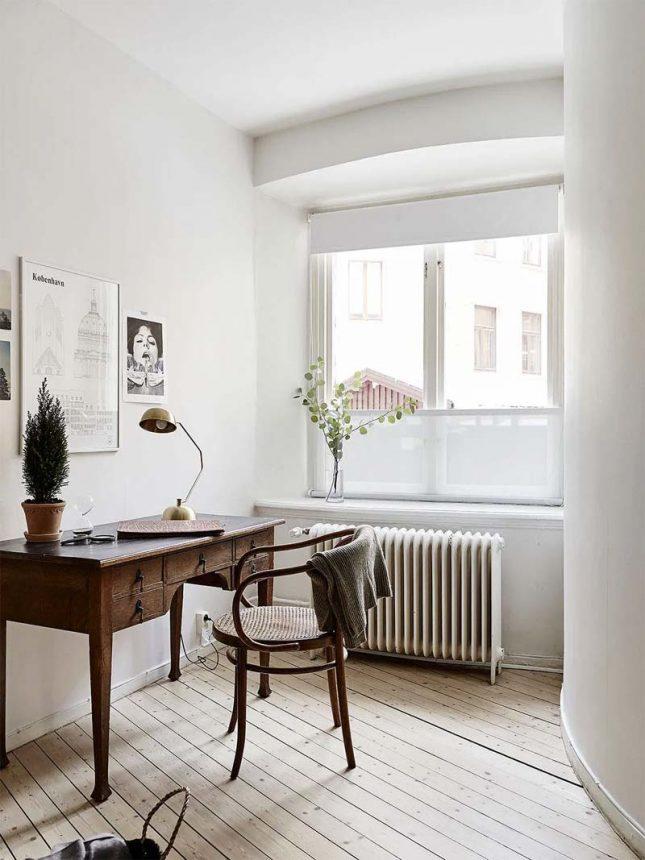 thuiswerkplek inrichten tips natuurlijk licht