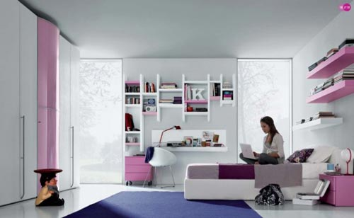 tienerkamer inrichten interieur inrichting. Black Bedroom Furniture Sets. Home Design Ideas