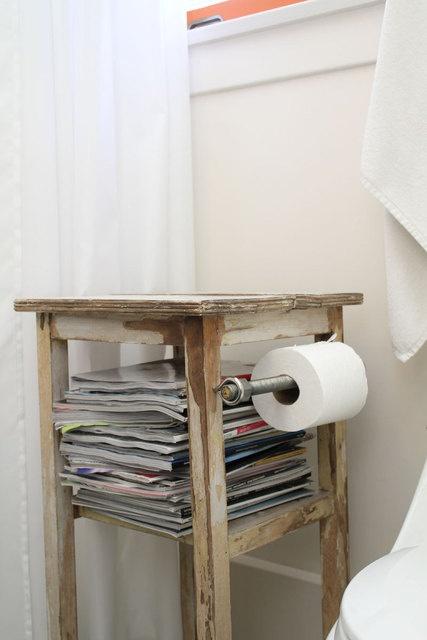 Tijdschriften in toilet