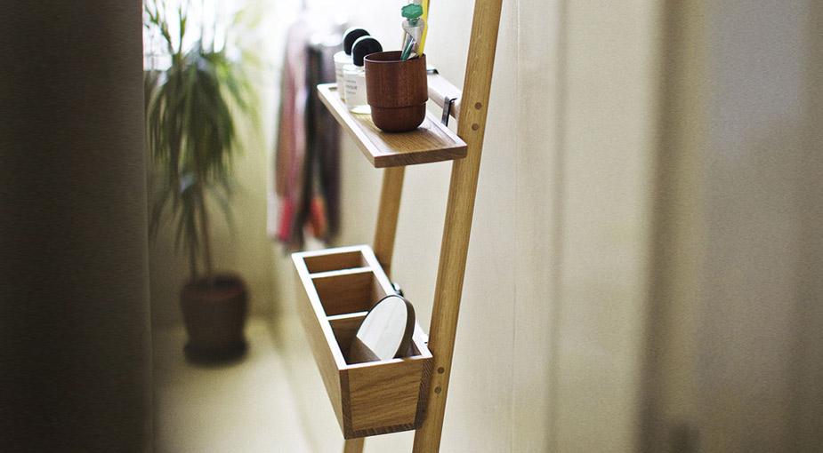 Tilt Oak ladder | Interieur inrichting