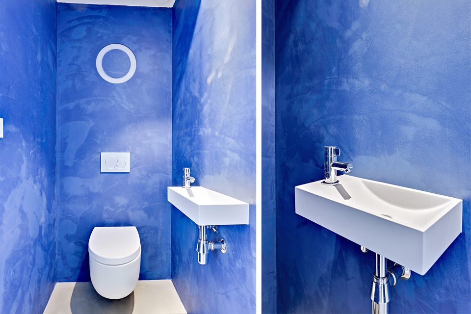 Betonstuc Badkamer Kosten : Matte betonstuc stunning kalkverf taupe liter blik with matte
