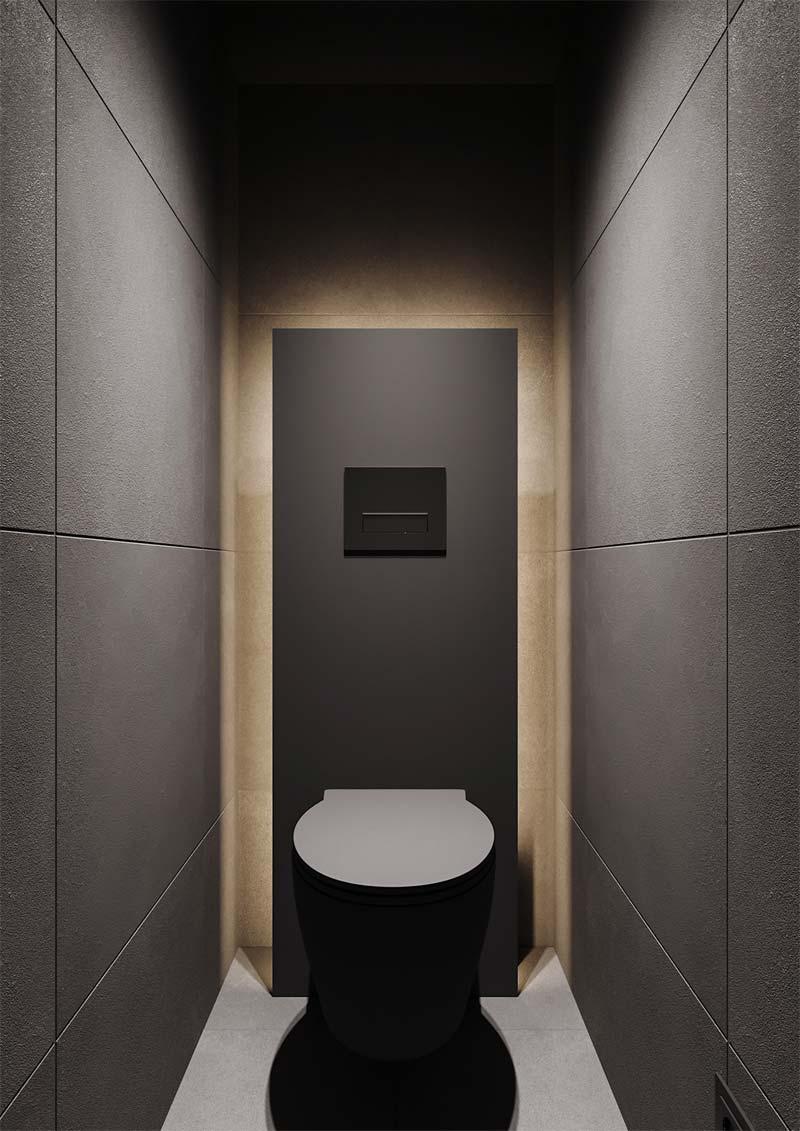toilet inspiratie modern luxe toilet