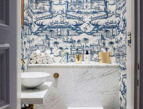 Toilet met Franse elegantie