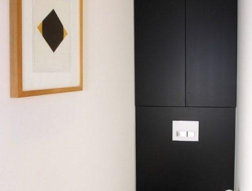 Toilet ontwerp door interieurarchitect Danny Hoorelbeke