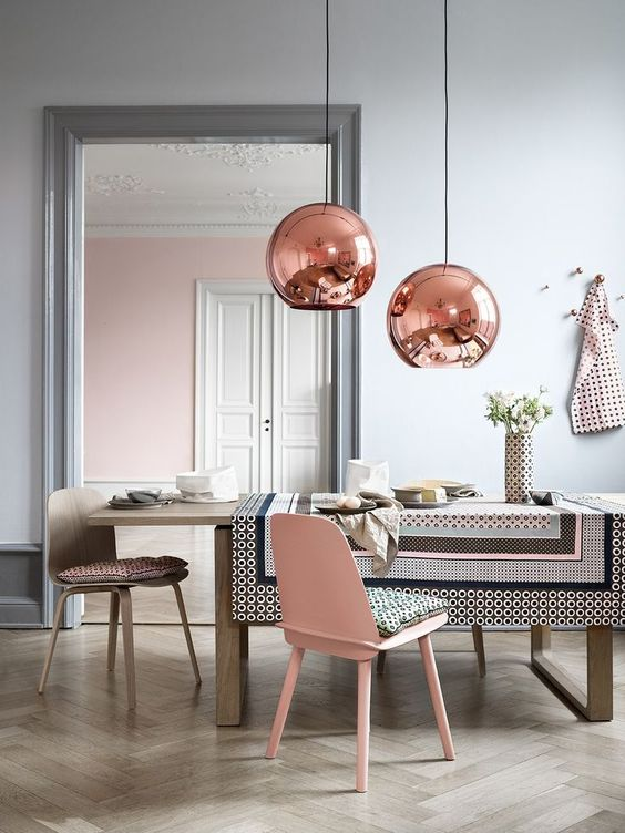 Tom Dixon Copper Shade serie