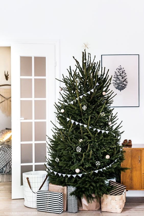 15x Traditionele kerstboom | Interieur inrichting