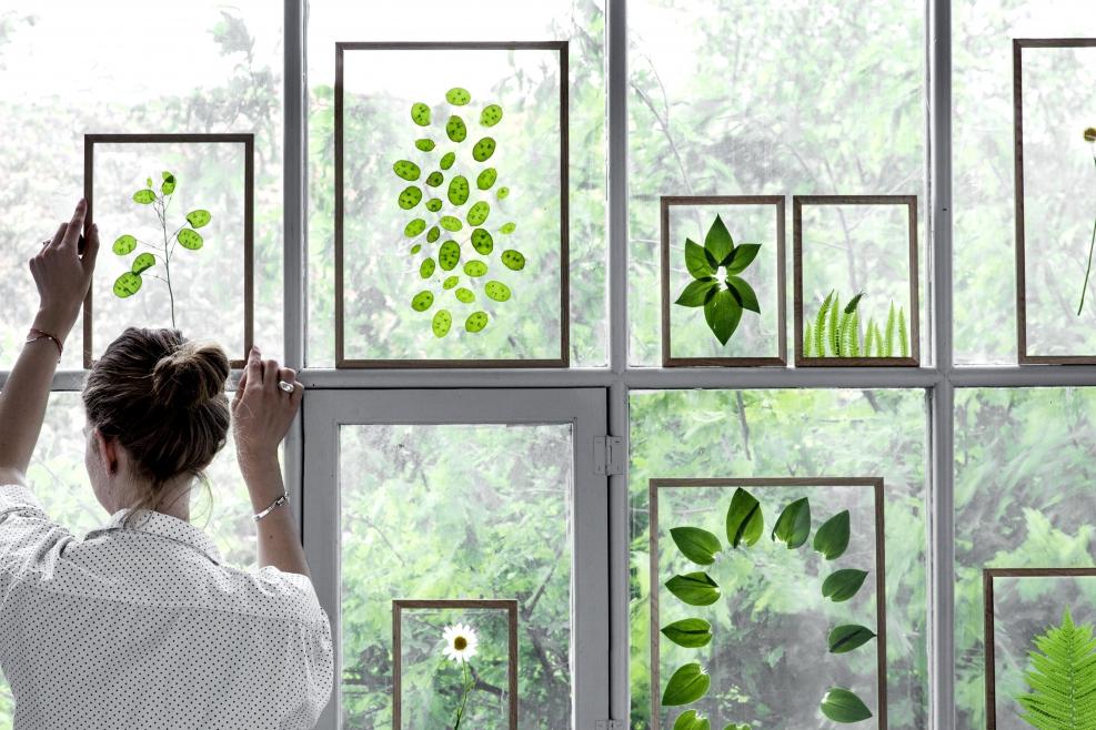 Transparante fotolijsten van MOEBE