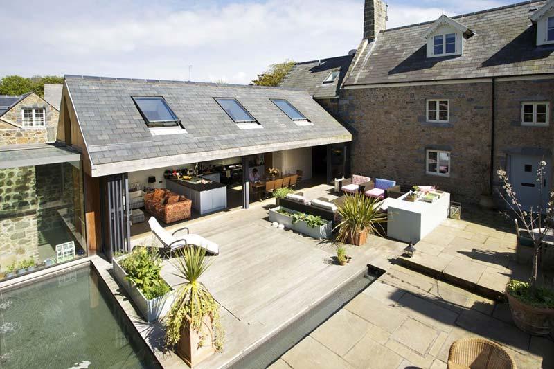 Tuin ideeën - tuin als verlengde van je huis