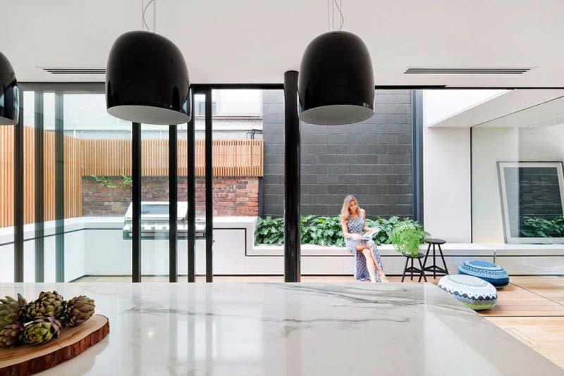 Tuin ideeën - TV meubel tuinbank