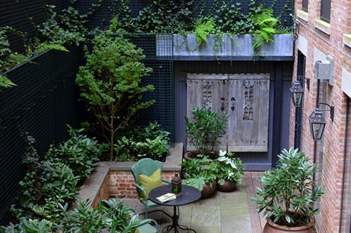 Tuin renovatie in Greenwich Village