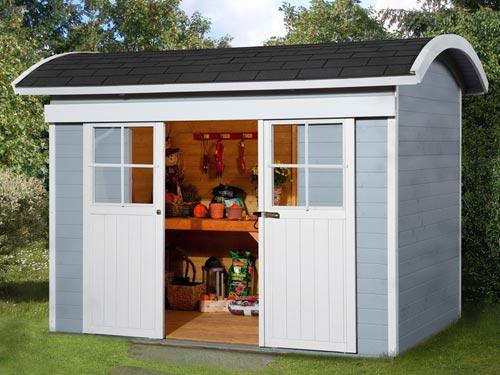tuinhuisje interieur inrichting. Black Bedroom Furniture Sets. Home Design Ideas