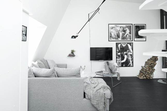 Speelse woonkamer