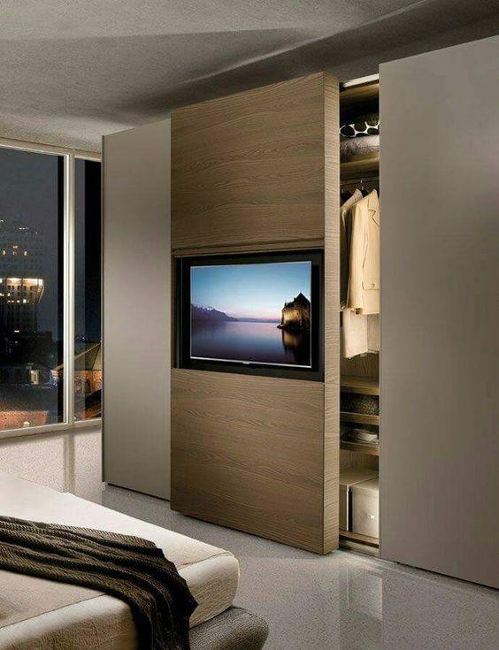 Tv Beugel Voor In Kast.10x Slaapkamer Tv Ideeen Interieur Inrichting
