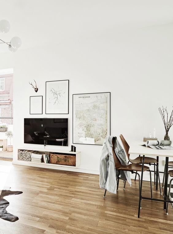 Vaak TV ophangen | Interieur inrichting #FS96