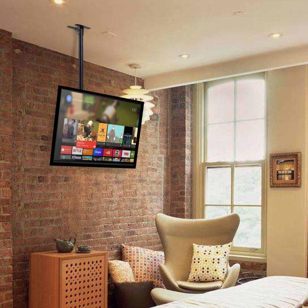 tv aan plafond